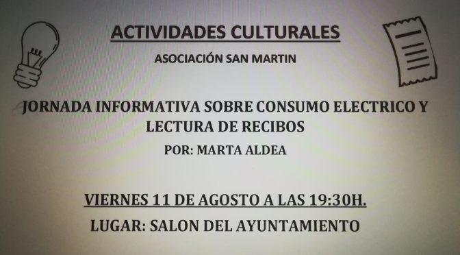 ACTIVIDADES CULTURALES ASOCIACIÓN SAN MARTIN
