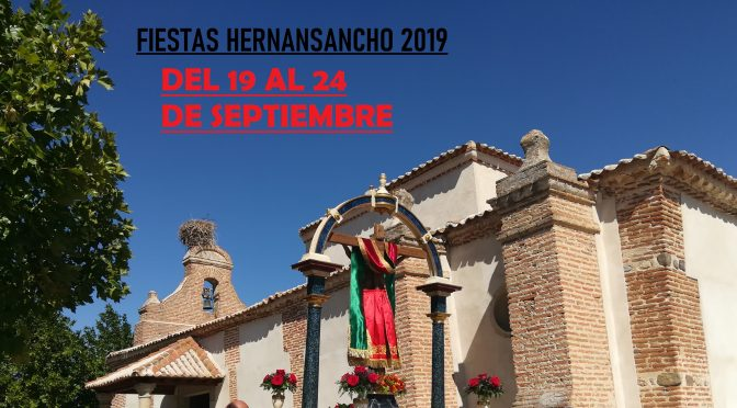FIESTAS EN HONOR AL STMO. CRISTO DE SAN MARTIN 2019